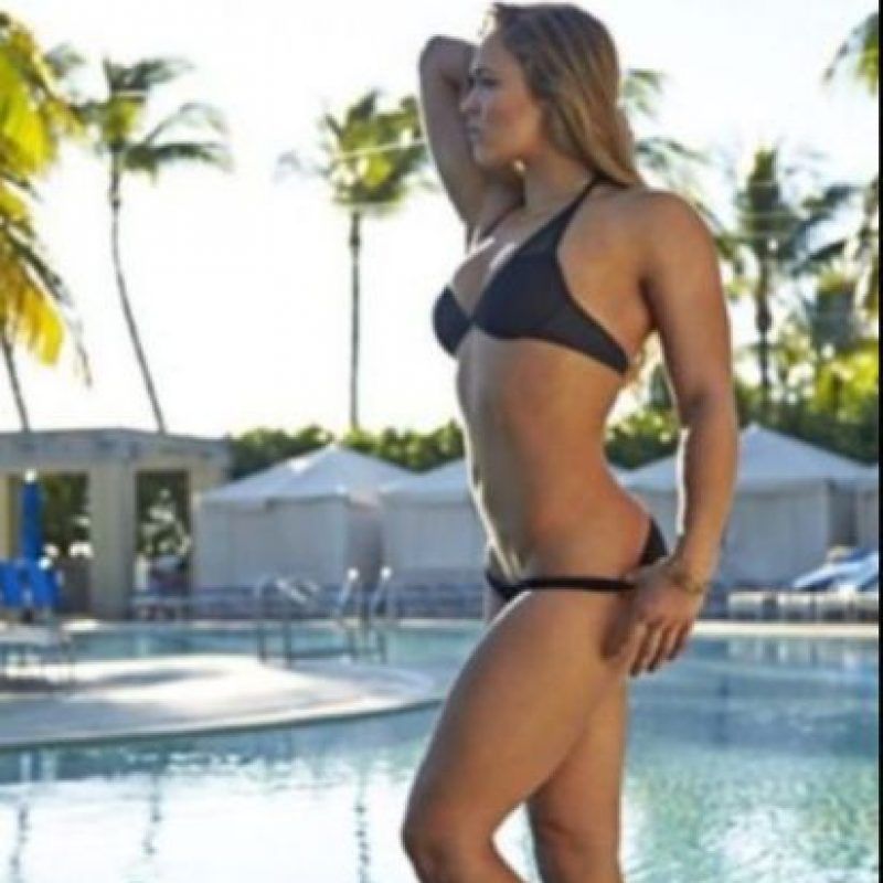 Miren las mejores imágenes de las redes sociales de Ronda Rousey Foto:Vía instagram-com/rondarousey