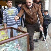 """El doctor Mohamad Youssef, actual gerente del consejo médico en Madaya, señaló al diario británico """"The Independent"""" que entre dos y tres residentes mueren diariamente de hambre. Foto:vía Twitter"""