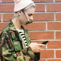 Por su color de cabello Foto:Vía Instagram/@justinbieber