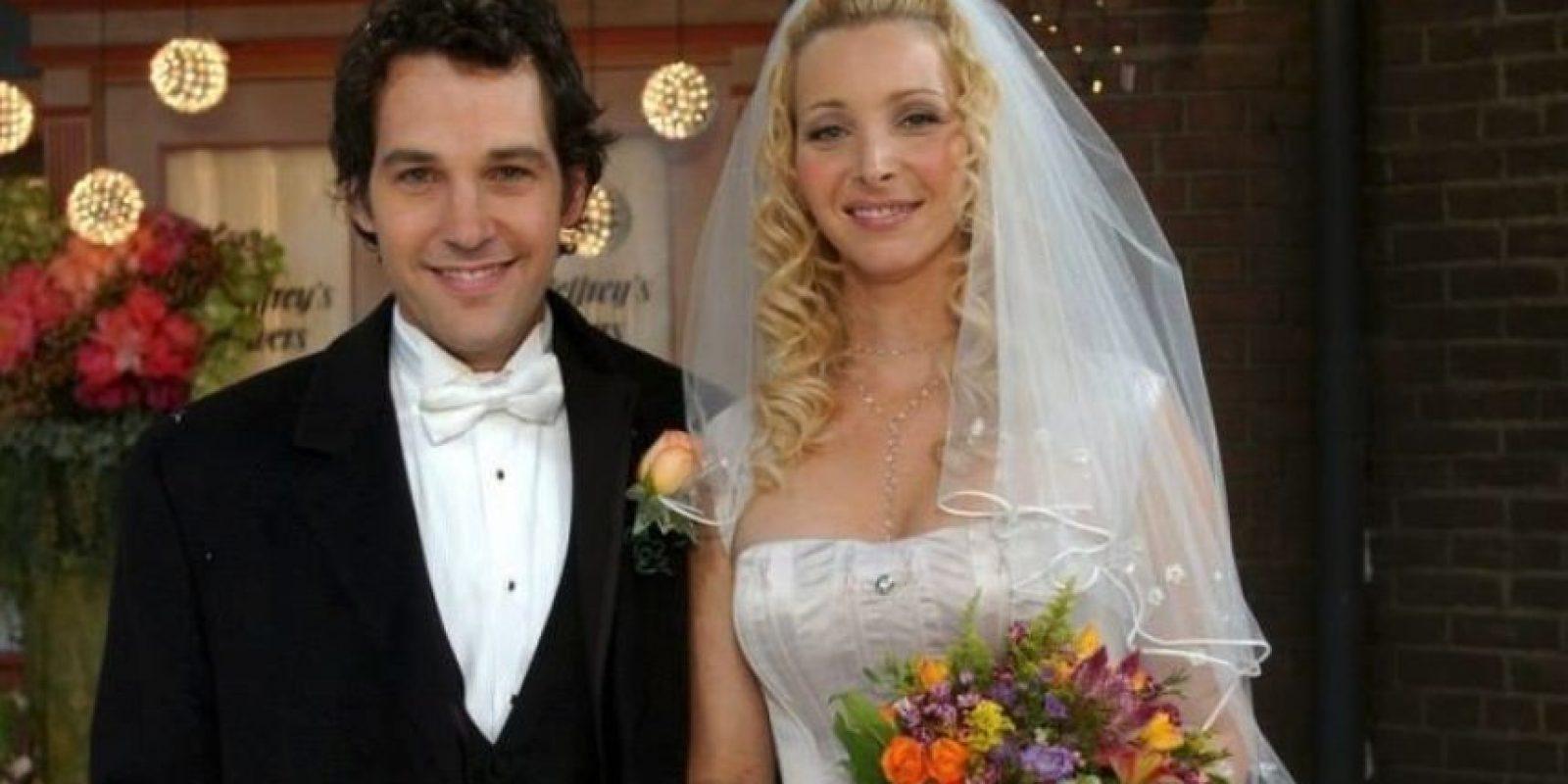 """Paul Rudd. Interpretó a """"Mike Hannigan"""", el desconocido que se convirtió en el esposo de """"Phoebe"""". Foto:Warner"""