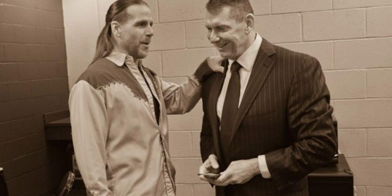 ¿Aceptará Michaels la propuesta de Vince y Triple H? Foto:WWE
