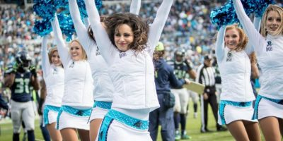 Las mejores imágenes de las porristas de Carolina Foto:NFL