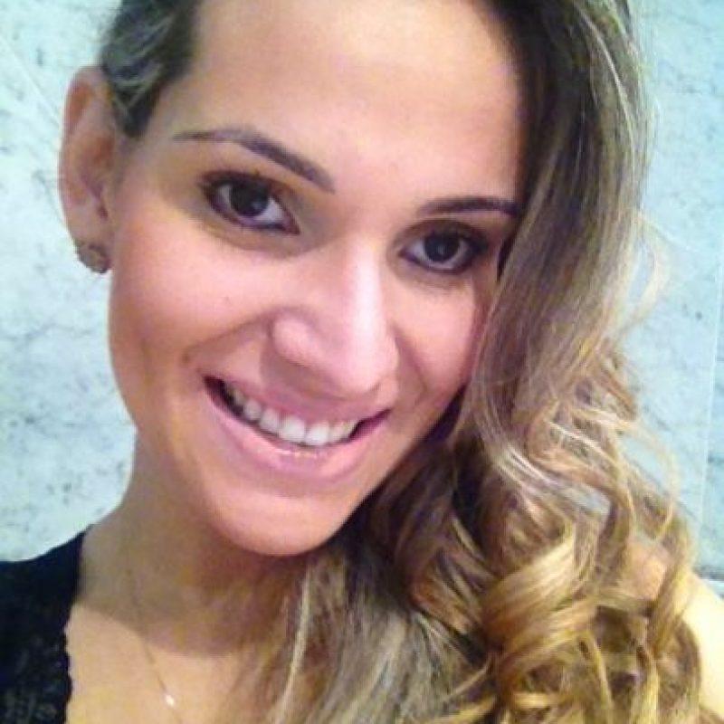 La hermana de Juliano Belletti fue vista con el portugués en 2009. Foto:Vía facebook.com/luana.belletti