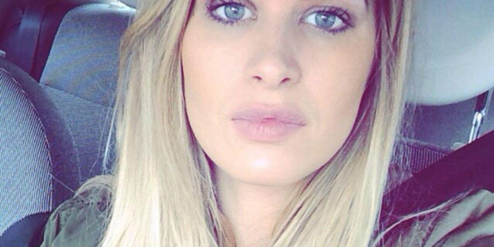 9. Olivia Saunders / En 2009, esta británica de entonces 18 años, salió con el portugués. Foto:Instagram