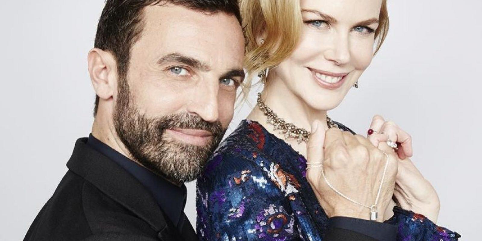 Nicolas Ghesquière y Nicole Kidman hacen su promesa Foto:Fuente Externa