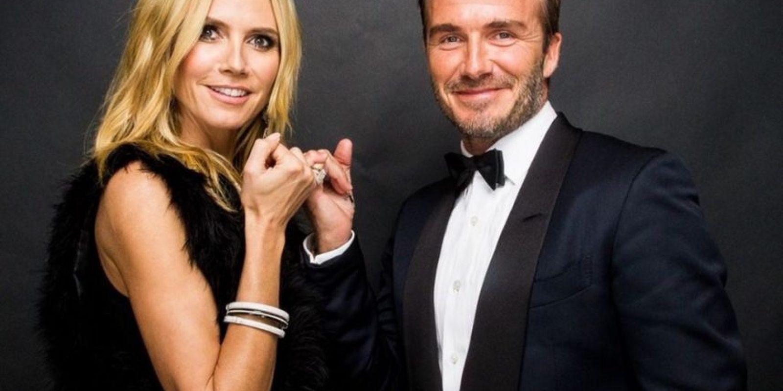 Heidi Klum y David Beckham también se unieron Foto:Fuente Externa