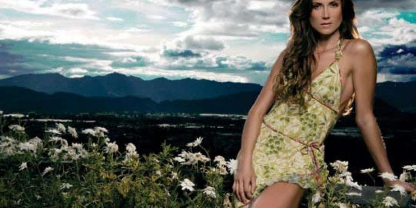 También había roto recientemente con su segundo marido. Foto:vía Revista Cromos.