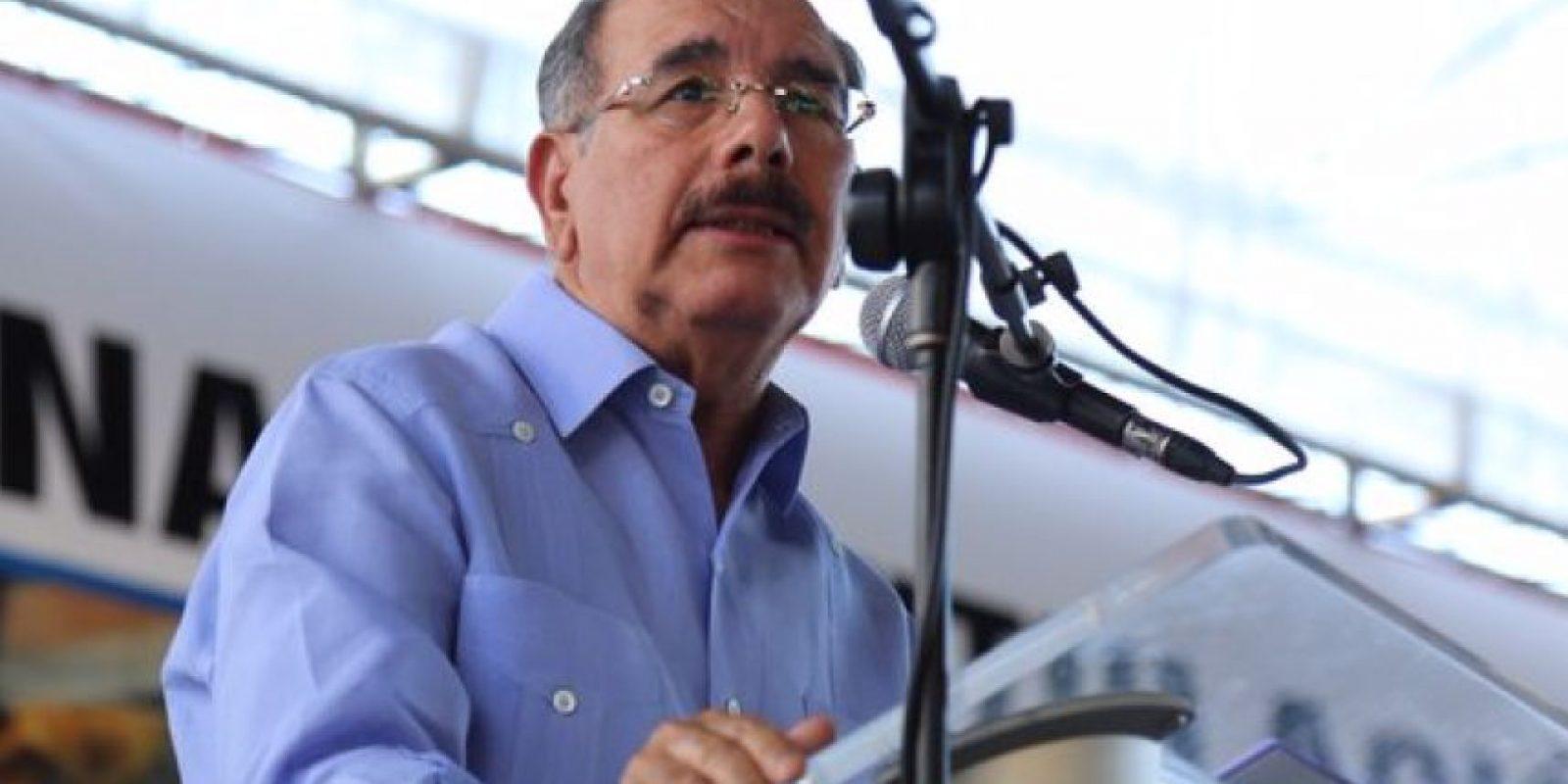 El presidente Danilo Medina Foto:@PresidenciaRD