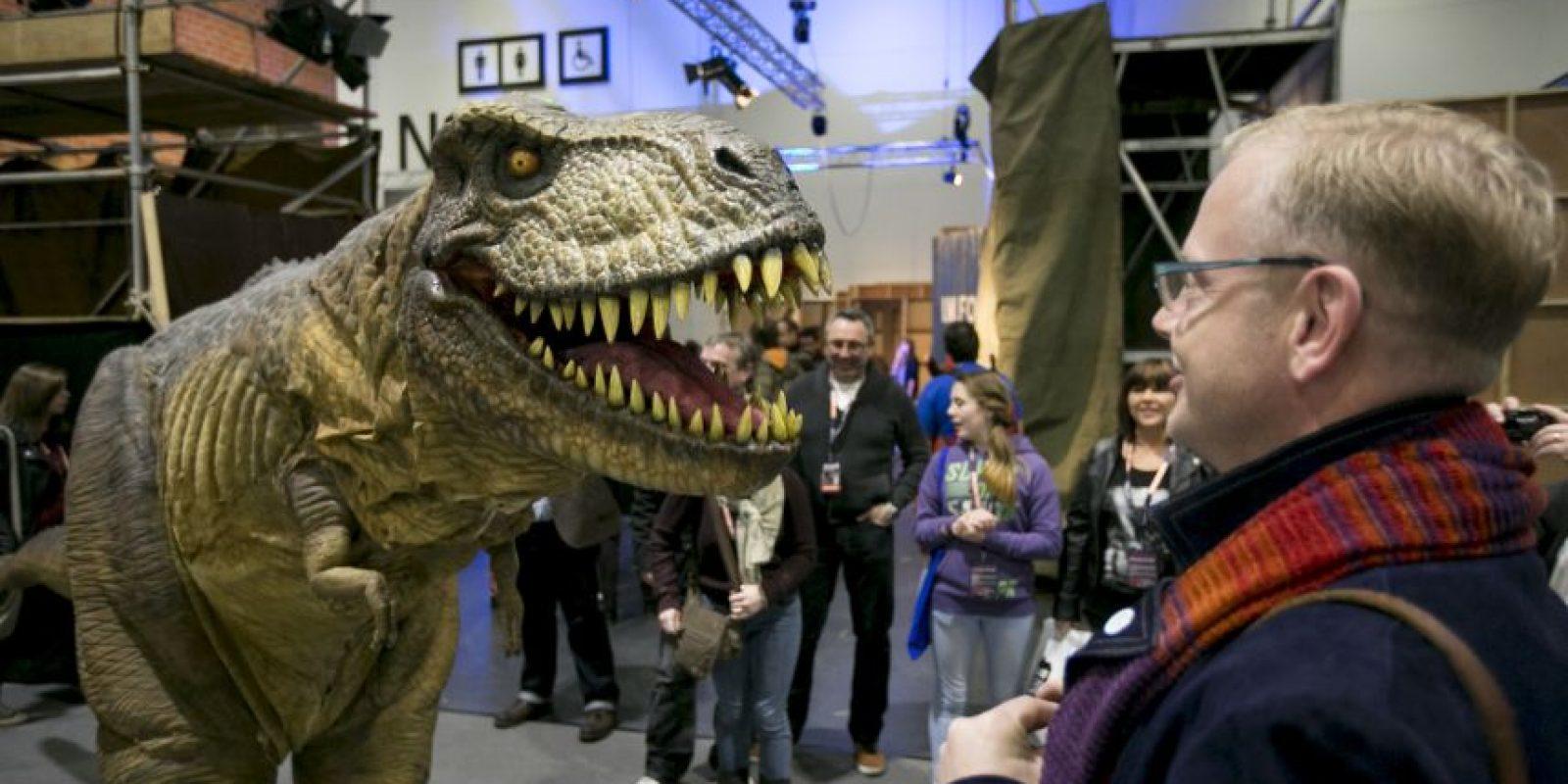 También se cree que entre sus presas se encontraban los Triceratops y Edmontosaurus. Foto:Getty Images