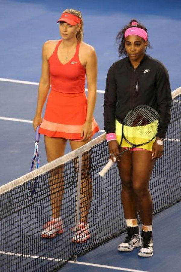 Aunque a pesar de ello, los números siempre favorecen a Serena Williams. Foto:Getty Images