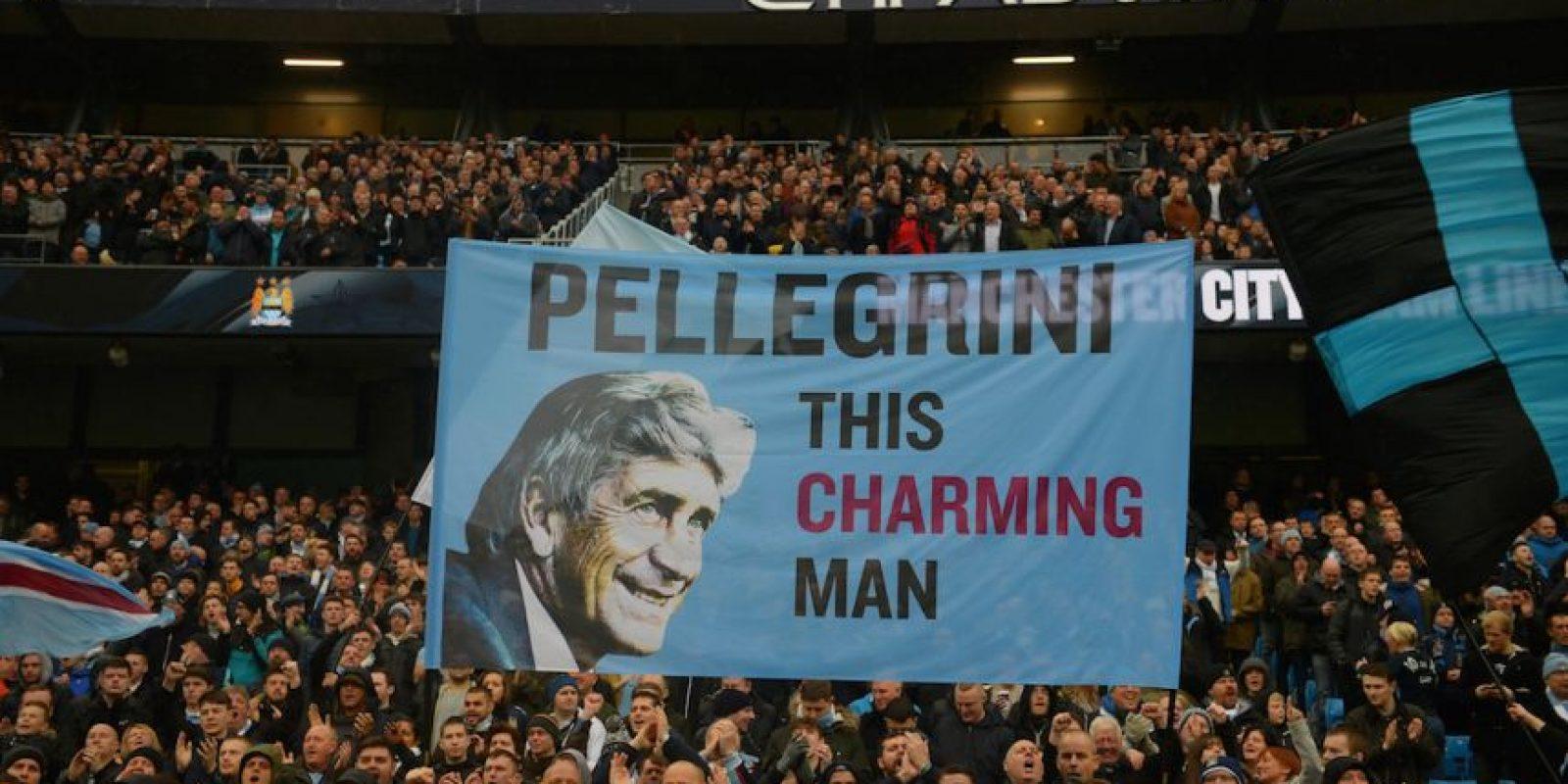 Manuel Pellegrini será el entrenador del Manchester City hasta junio próximo… Foto:Getty Images