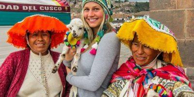 Perú Foto:Vía Instagram.com/theblondeabroad