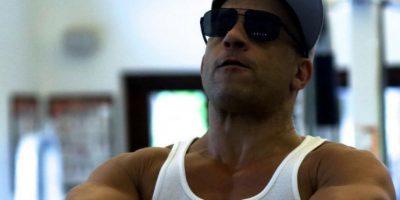 El actor de 48 años suele presumir su figura en redes sociales. Foto:Vía instagram.com/vindiesel
