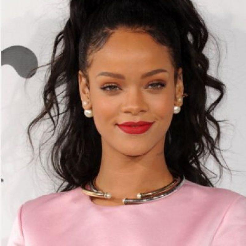 """""""¿Qué buscas en un hombre?"""". Rihanna contesta: """"Yo no busco hombres. Lo dejo claro"""". Foto:vía Getty Images"""