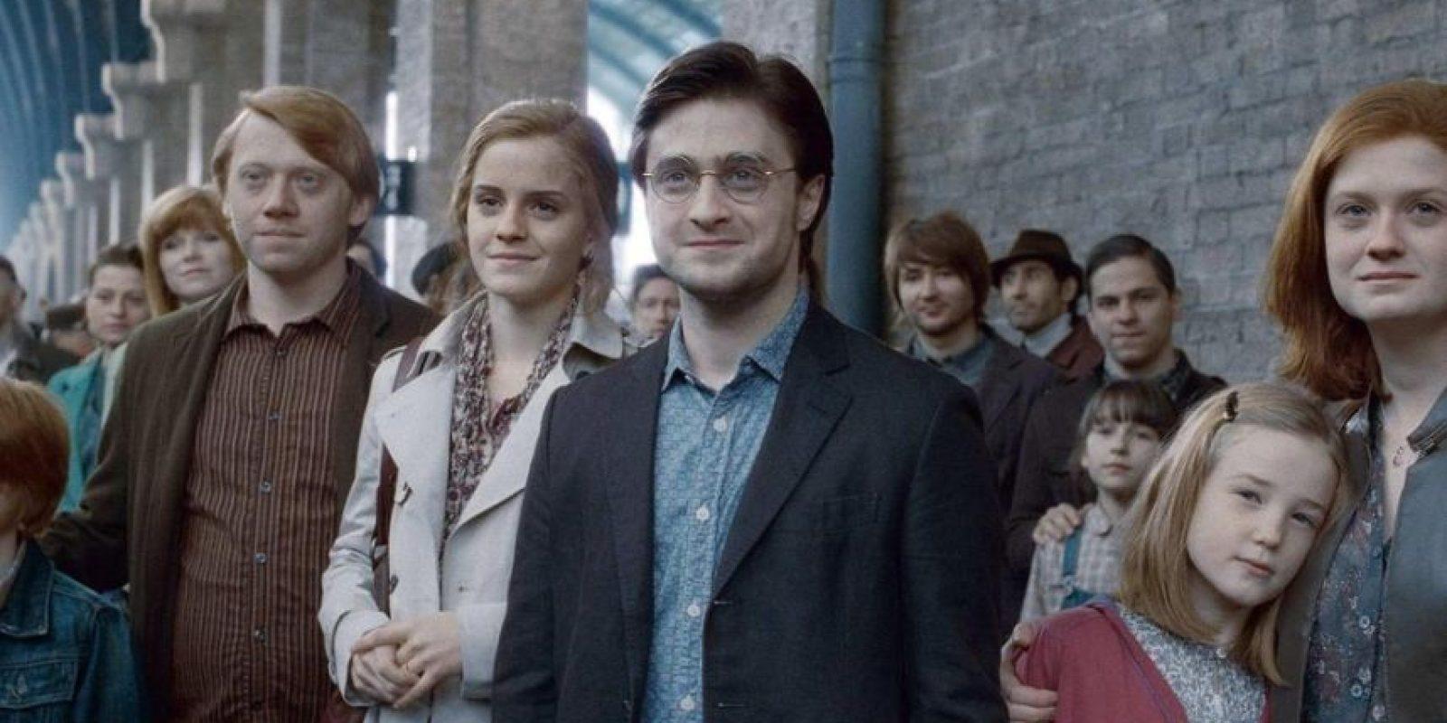 """Desde los fans del """"Dramione"""", que adoraban ver a Draco Malfoy y a la hija de """"muggles"""" juntos. Foto:vía Warner Brothers"""