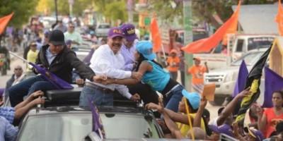 Medina inicia en la región sur actividades proselitistas de cara comicios