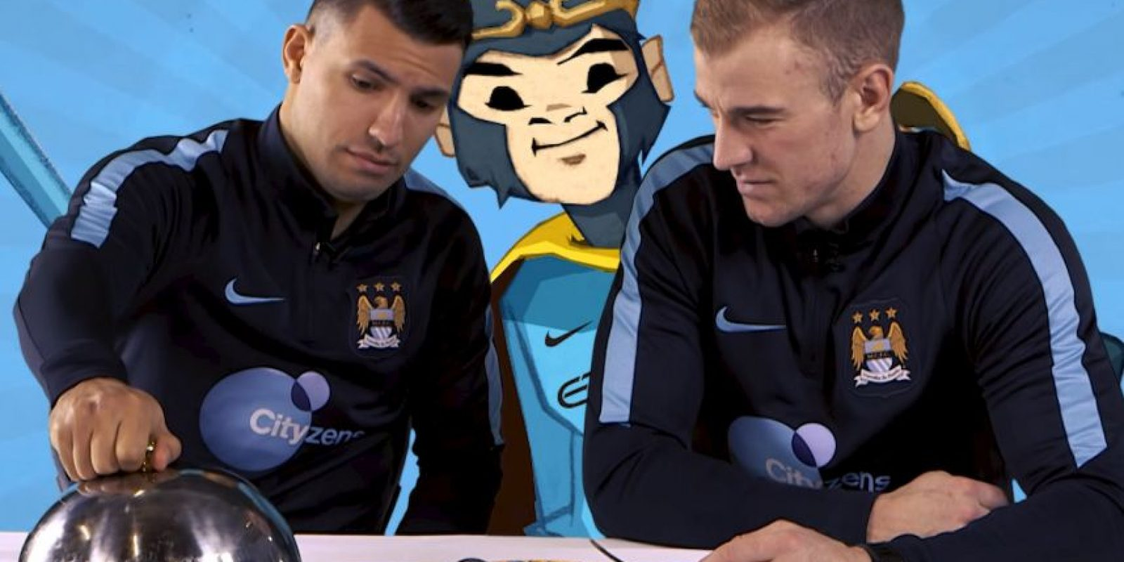 Manchester City celebró el año nuevo chino con un video divertido. Foto: YouTube Manchester City FC