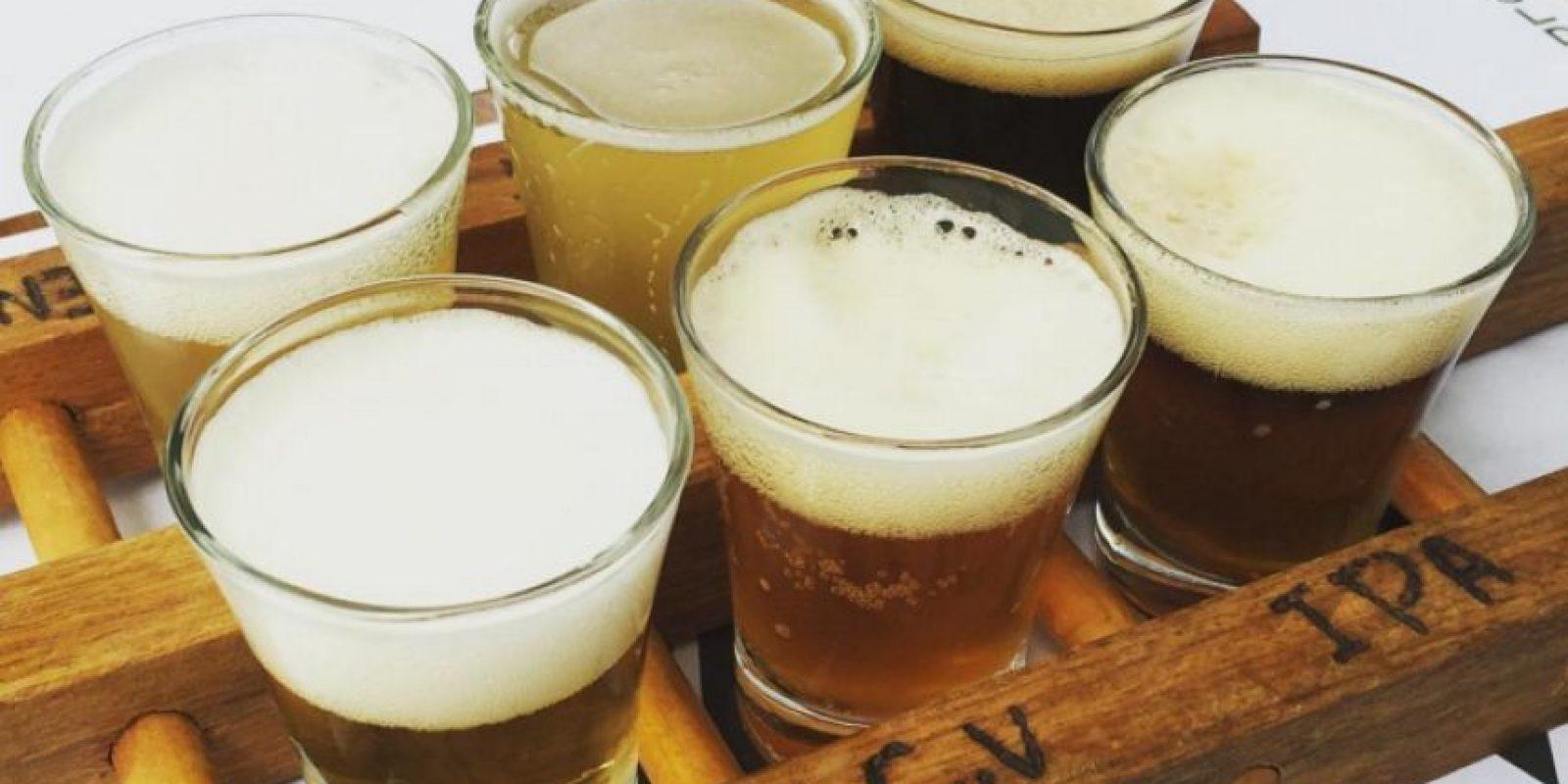 """En la """"fanzone"""" las cervezas se venden a 8 dólares y se espera que se consuman 325 millones de galones de cerveza (más de 1230 millones de litros). Foto:Vía instagram.com/explore/tags/bee"""