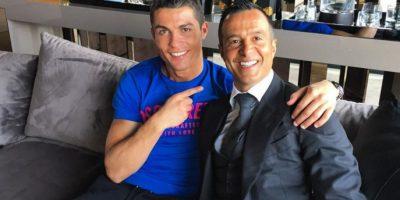 Es su representante y su gran amigo también. Foto:Vía instagram.com/Cristiano