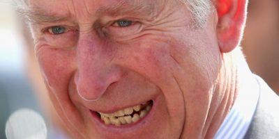 Así es la sonrisa del Príncipe Carlos. Foto:vía Getty Images