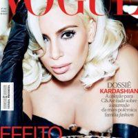 Tal y como lo hizo el año pasado para Vogue Brasil. Foto:vía Vogue