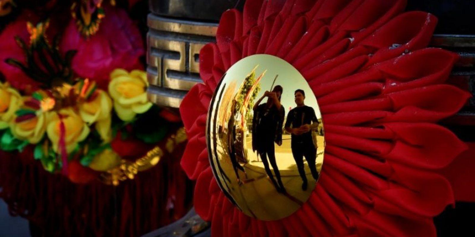 El año pasado estuvo regido por la cabra Foto:AFP