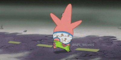 Cuando quieres ir al baño durante el Super Bowl, pero no quieres perderte ninguno de los comerciales. Foto:Vía twitter.com