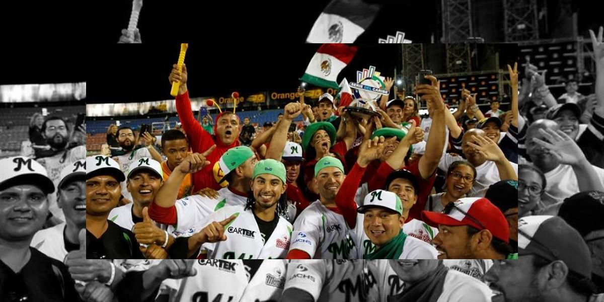 México se corona campeón en el Béisbol del Caribe con jonrón de Vásquez