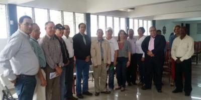 Montalvo se reúne con autoridades y residentes de la provincia Espaillat