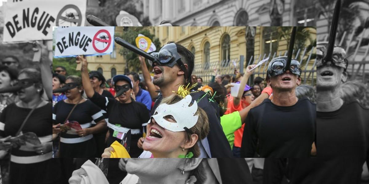 Carnaval de Río sigue bajo sombra del zika