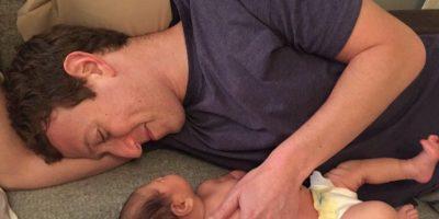 La imagen más adorable de padre e hija. Foto:Vía facebook.com/zuck