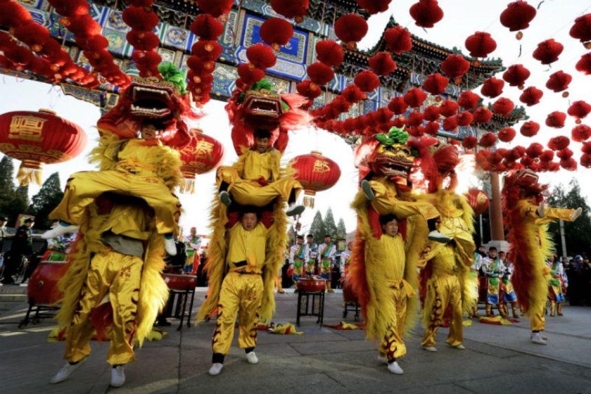 El año del mono en China Foto:AP