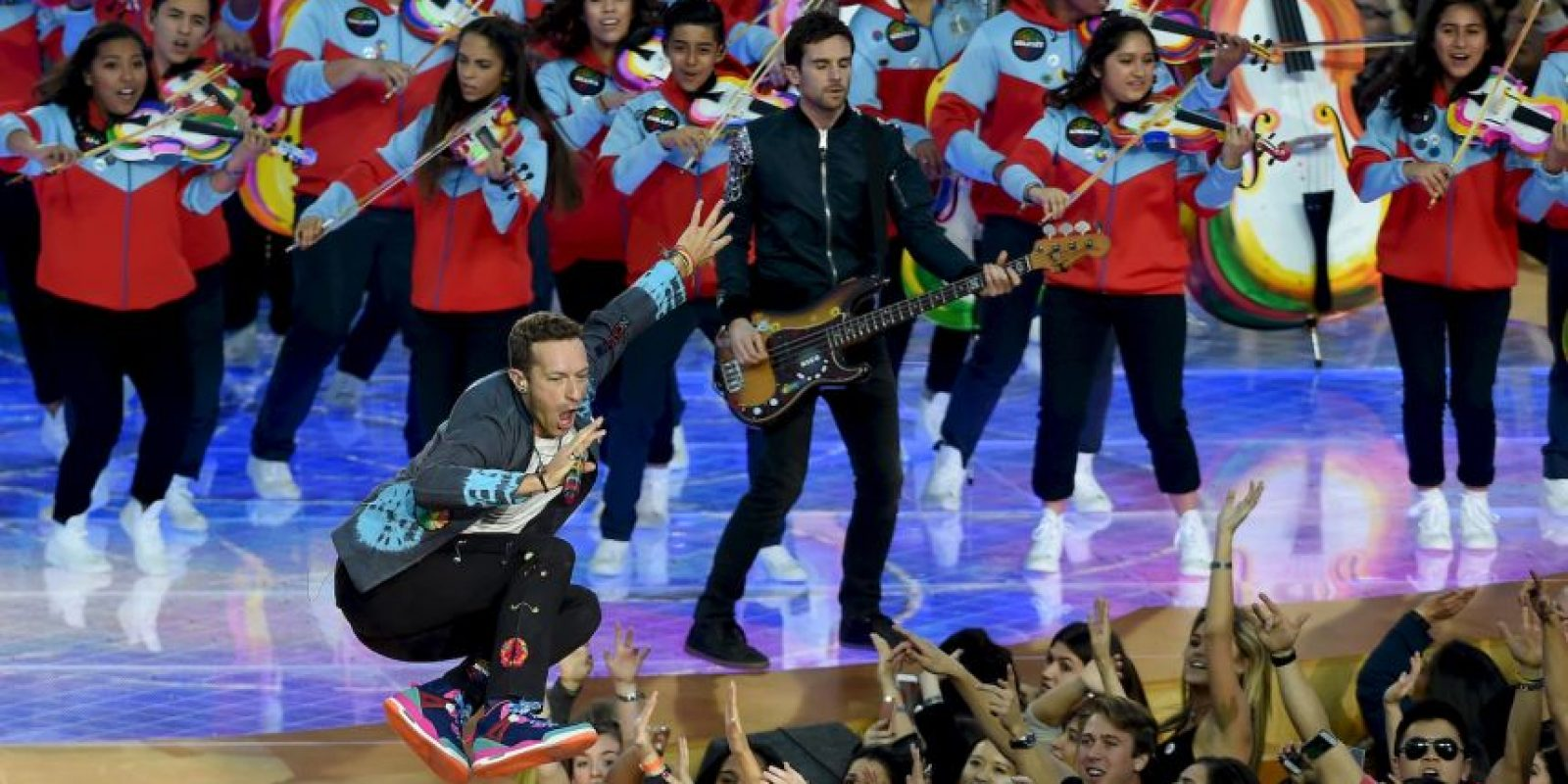 "E interpretaron ""Viva la Vida"". Foto: Getty Images"
