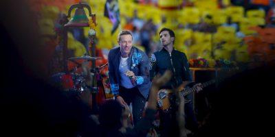 """Y también tocaron su nuevo sencillo, """"Adventure in a Lifetime"""". Foto:Getty Images"""