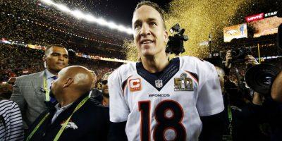 Peyton Manning fue el más seguido en las celebraciones. Foto:Getty Images