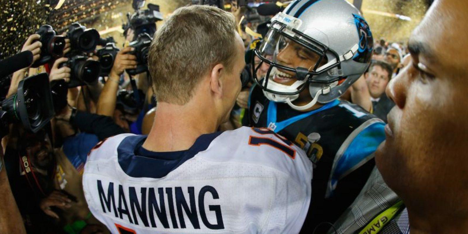 Obtuvo el reconocimiento de Cam Newton. Foto:Getty Images