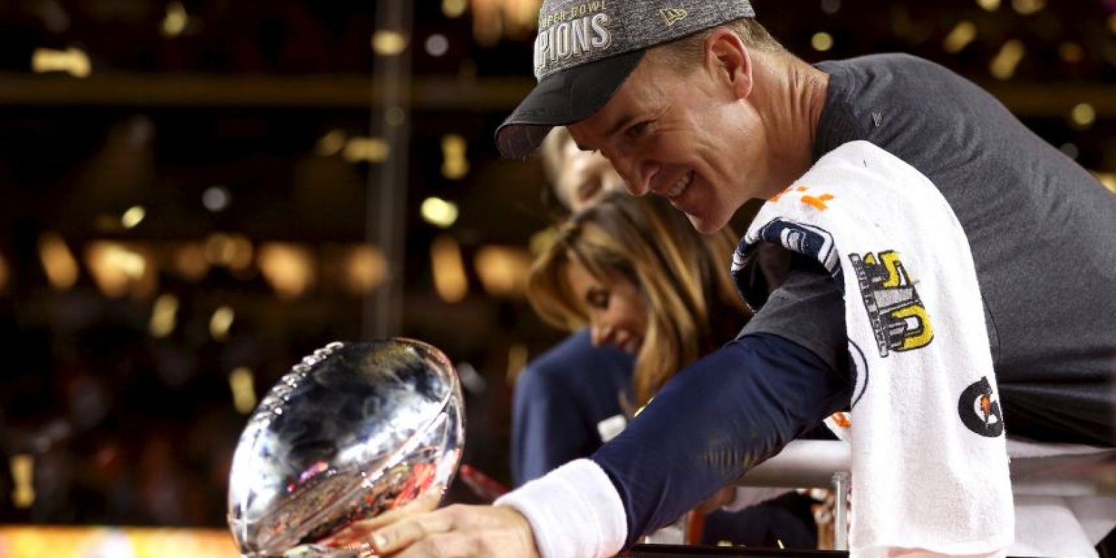 Peyton ganó su segundo Super Bowl, luego del logrado con Indianápolis en la edición XLI Foto:Getty Images