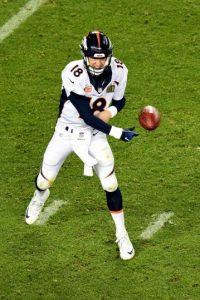 Apex Marketing Group, una firma de investigación de patrocinio, dijo que la mención de Manning se traduce en tres millones de dólares para Budweiser Foto:Getty Images
