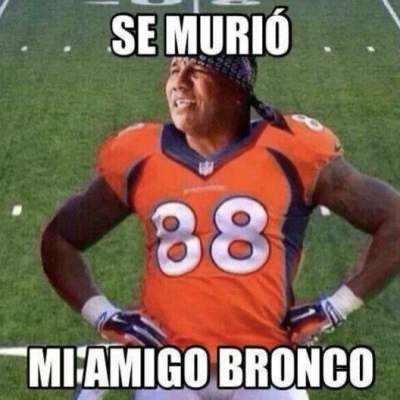 Los Broncos que jugaron… Foto:Vía twitter.com