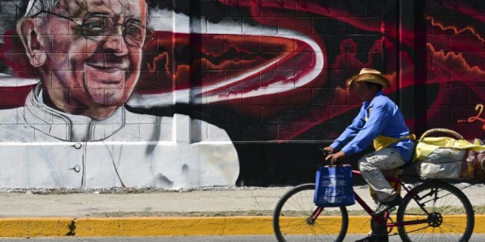 Pero volverá a la Ciudad de México para tener un encuentro cultural. Foto:AFP