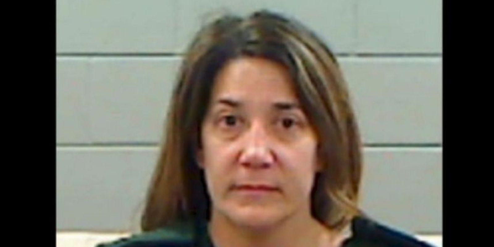 Allison Evans Sloanaker, fue acusada de abusar a de un niño de 11 años. Foto: Rankin County Detention Center