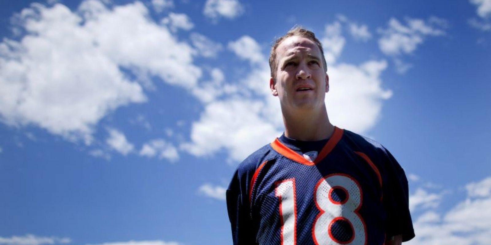 2012, en sus primeros días con los Broncos de Denver Foto:Getty Images