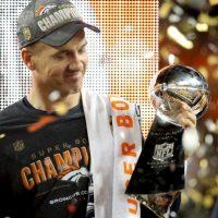 2016, luego de ganar su segundo Super Bowl Foto:Getty Images