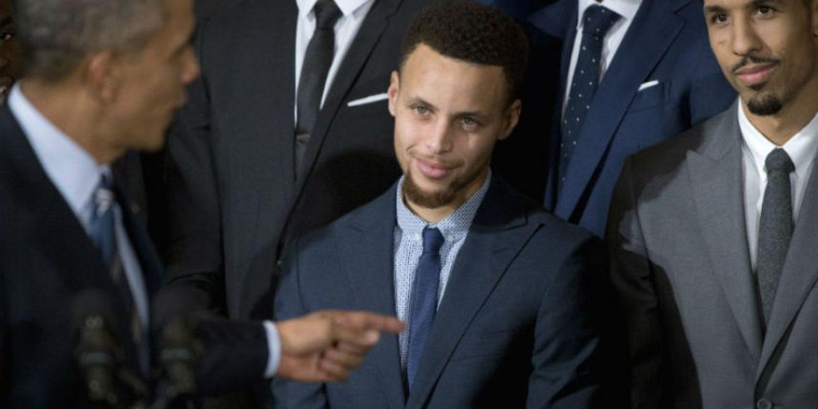 Sobresalió la cercana amistad de Curry con Obama Foto:AP