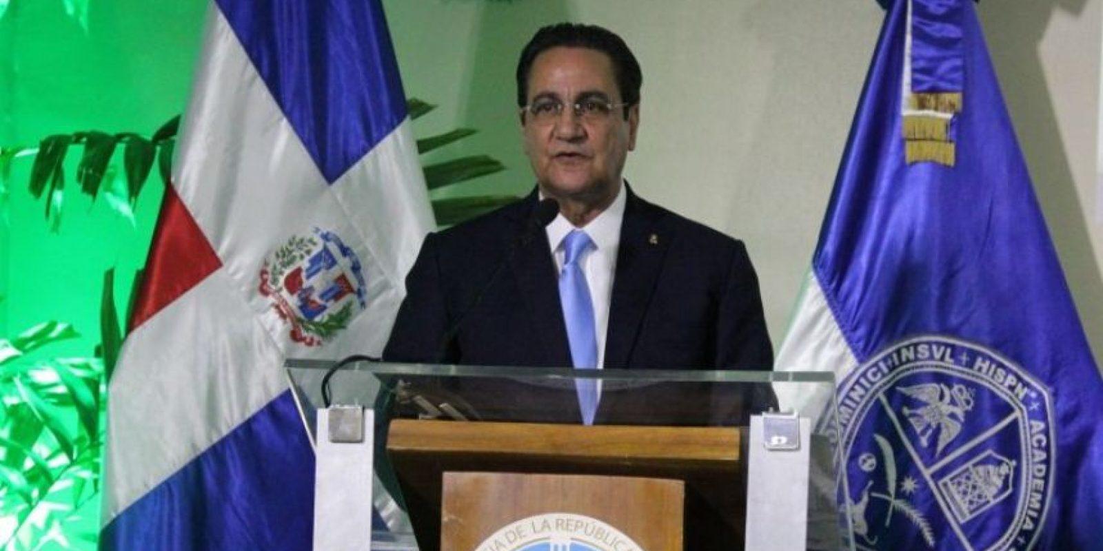 El rector Iván Grullón Foto:Fuente Externa
