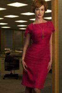 """Christina Hendricks ganó celebridad por su papel de la sensual """"Joan"""" en """"Mad Men"""". Foto:vía AMC"""