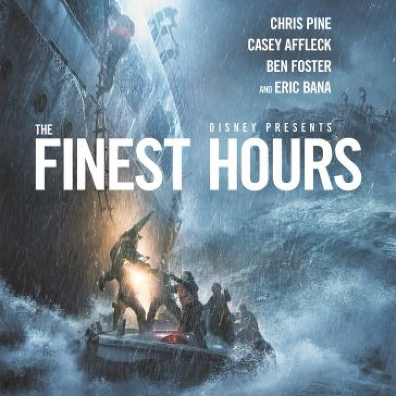 "Afiche de la película ""The Finest Hours"". Foto: Cortesía"
