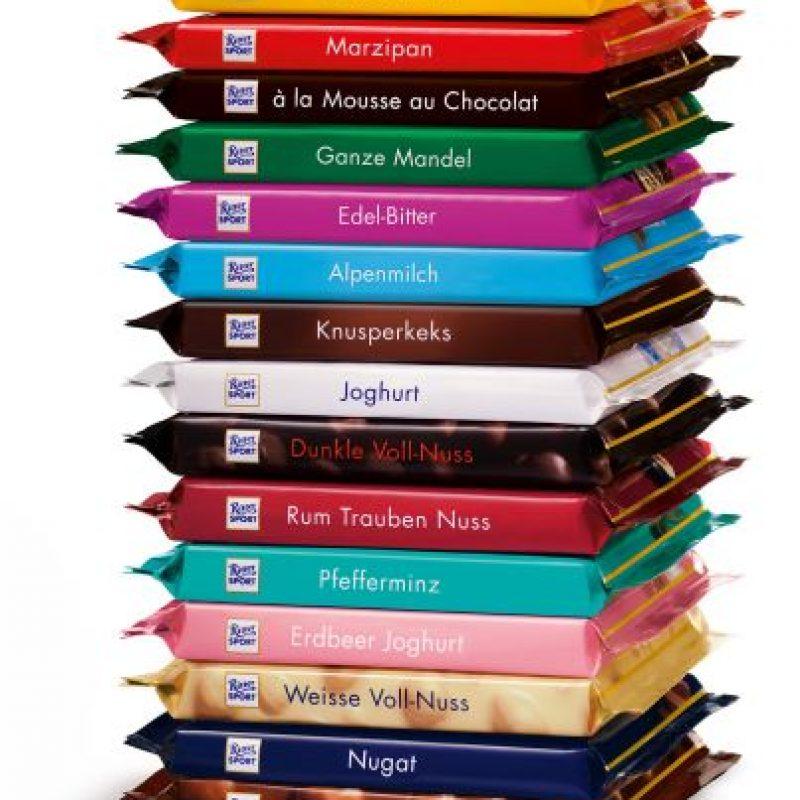 Ritter. Cremosa y deliciosa barra de chocolate dividida en cuadrados perfectos, para deleitar tu paladar en cada mordisco. Foto:Fuente Externa