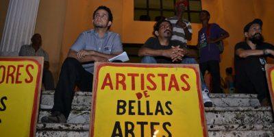 Tras un año de huelga, los maestros de la Escuela de Bellas Artes siguen abandonados