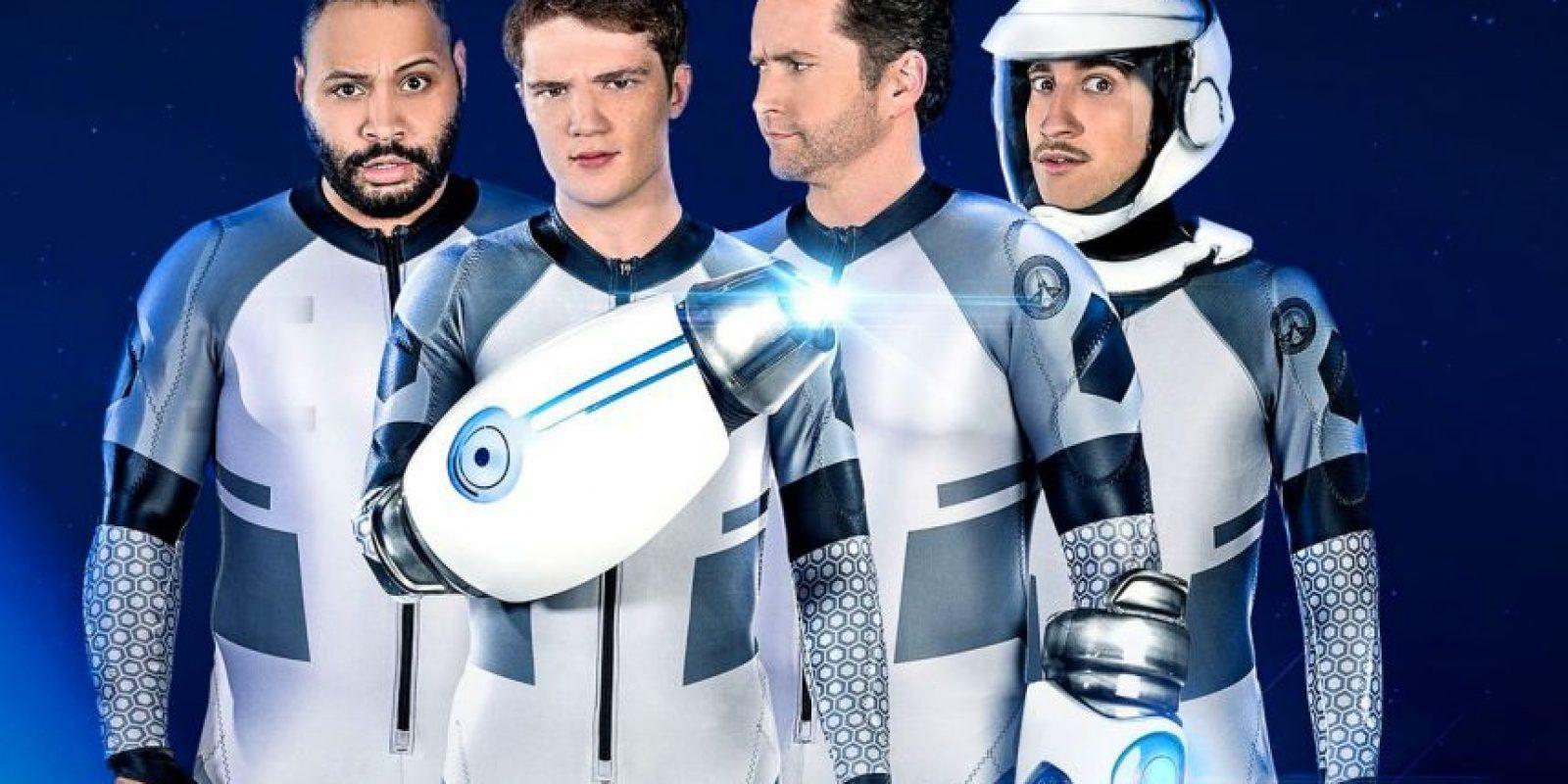 Lazer Team. Película en la que cuatro perdedores de un pequeño pueblo se enfrentarán a una nave alienígena en una lucha para proteger el planeta Tierra. Foto:Fuente Externa
